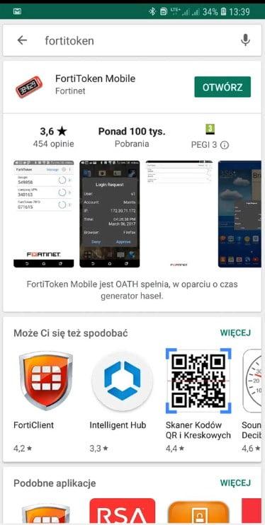 Fortioken mobile sklep-play