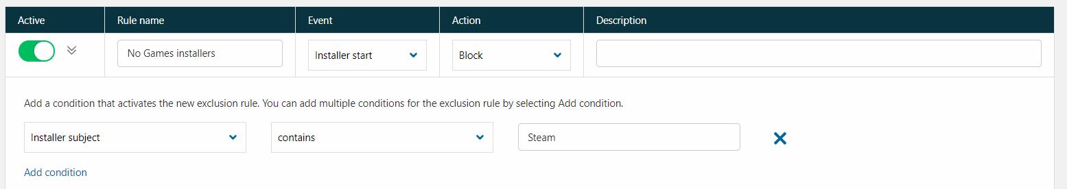 Blokowanie gier wantywirusie